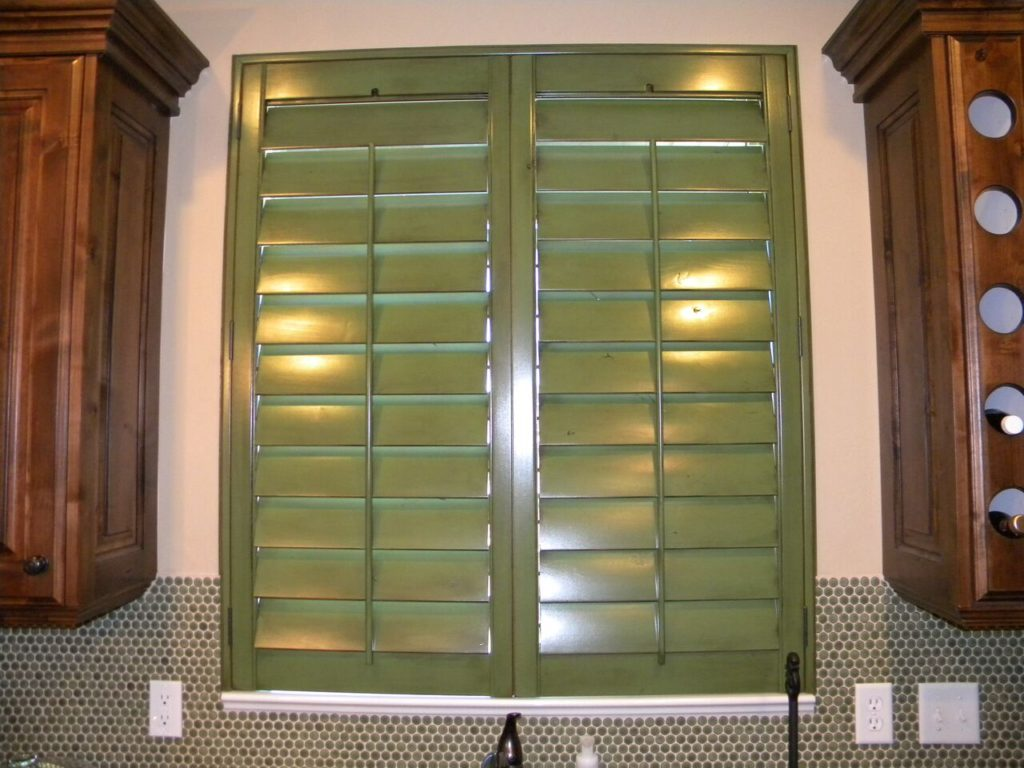 Mill Creek Shutters Custom Kitchen