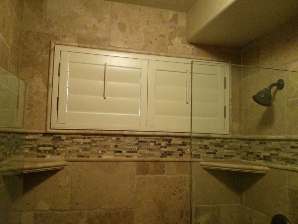 Mill Creek Shutters Custom Shower