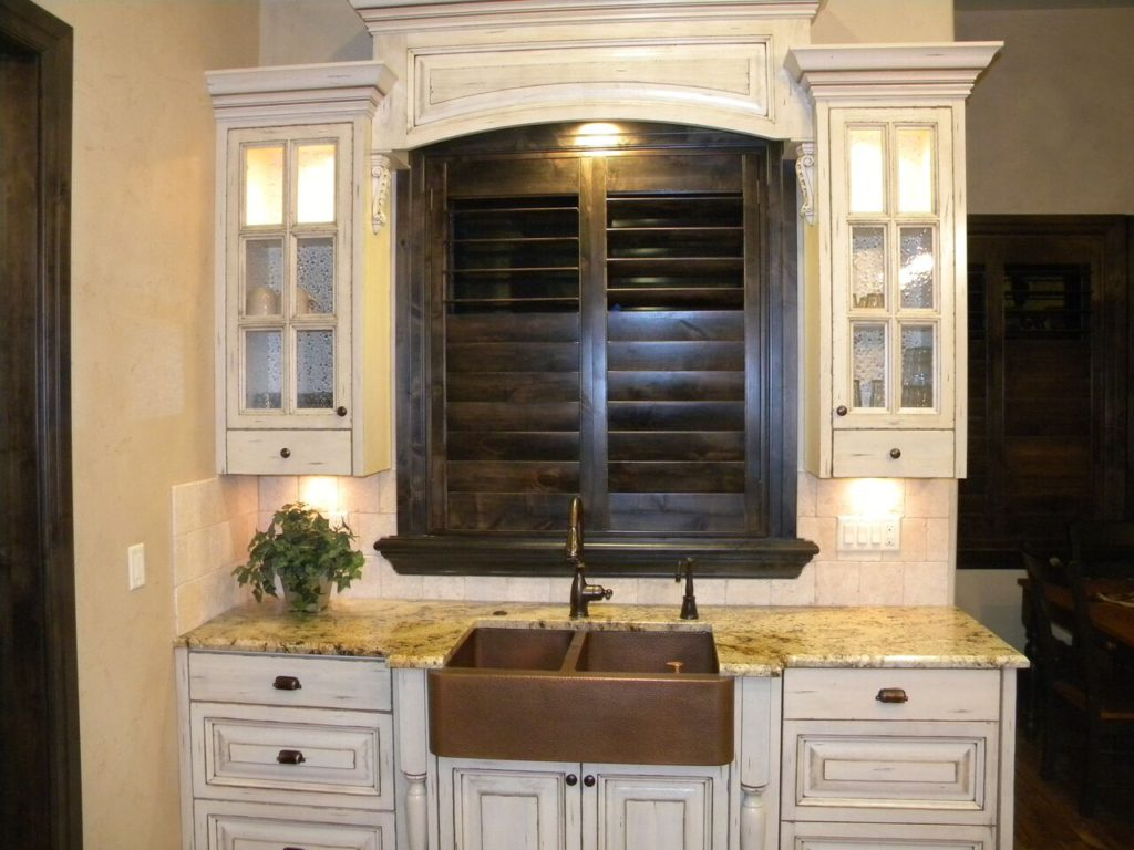 Mill Creek Shutters Stained Wood