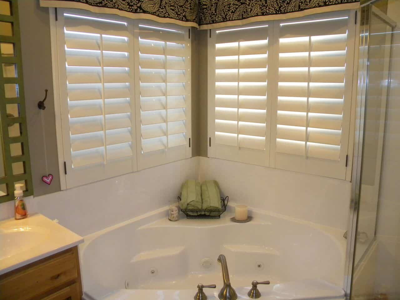Mill Creek Shutters Custom Bathroom