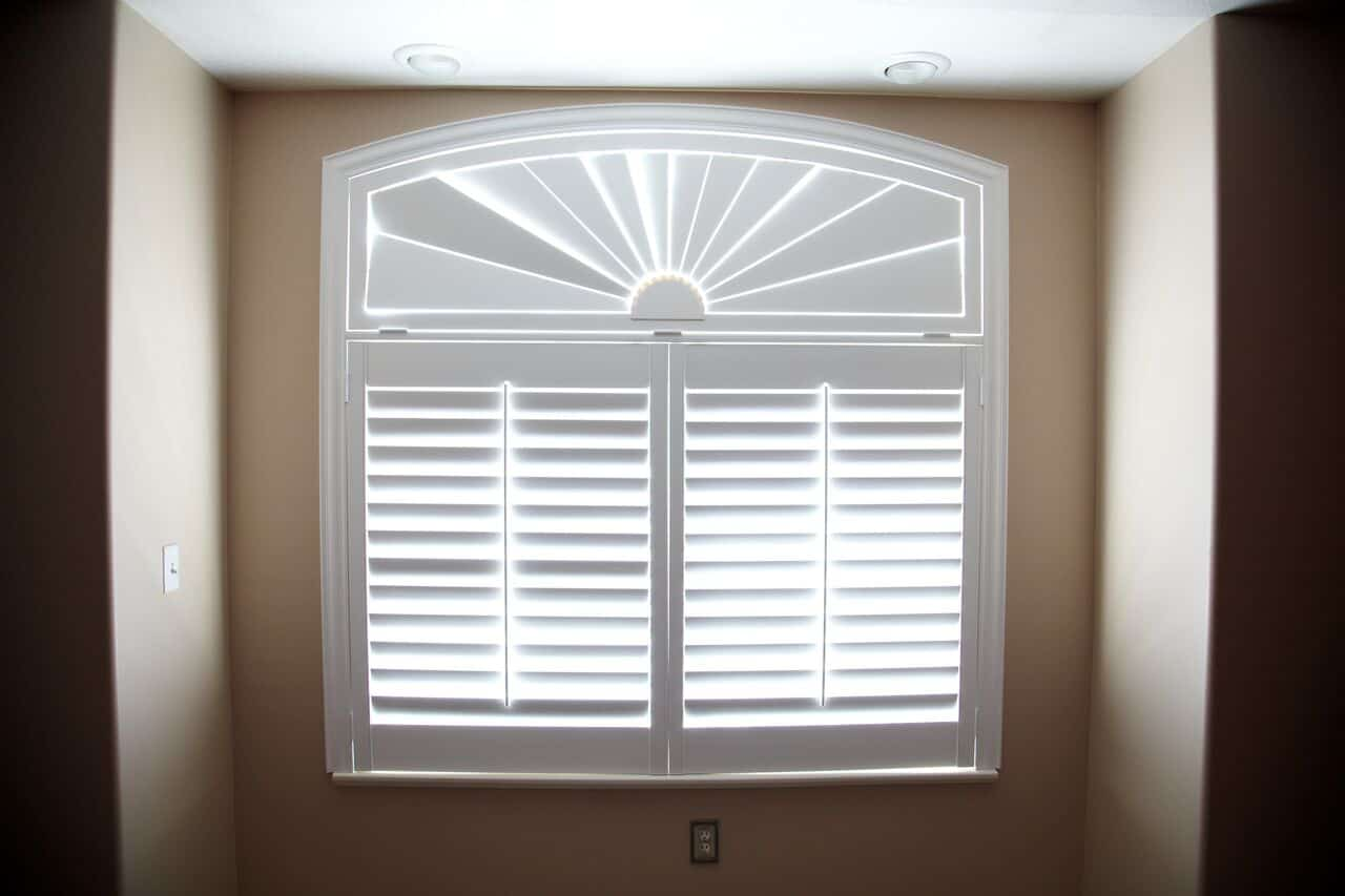 Mill Creek Shutters Custom Arch Transom