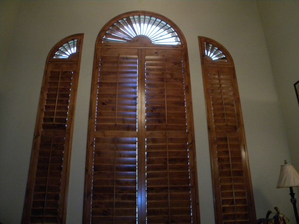 Mill Creek Shutters Custom Wall and Arch
