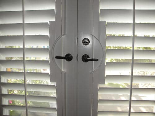 Plantation Shutters forFrench-Doors; Eagle Mountain, UT
